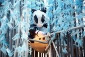 Détail de «Purity garden» à Shanghai. Marianne Papillon 2015